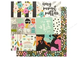 Simple Stories Collection Good Vibes Paper 12 in. x 12 in. Elements 4 in. x 6 in. (25 pieces)