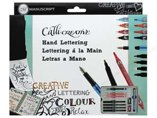 craft & hobbies: Manuscript Callicreative Hand Lettering Set