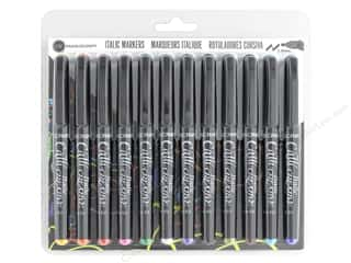 craft & hobbies: Manuscript Callicreative Marker 1.4 mm Italic 12 pc