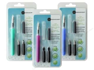 craft & hobbies: Manuscript Calligraphy Set 3 Nib Assorted