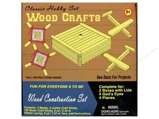 craft & hobbies: Pepperell Kit Classic Hobby Wood Crafts