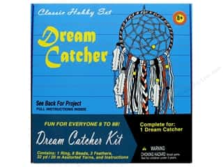 craft & hobbies: Pepperell Kit Classic Hobby Dream Catcher