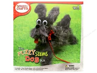 craft & hobbies: Pepperell Kit Fuzzy Stem Animal Dog