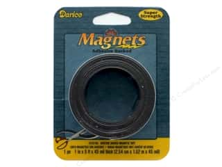 craft & hobbies: Darice Magnet Tape 1 in. Super Strength 5ft