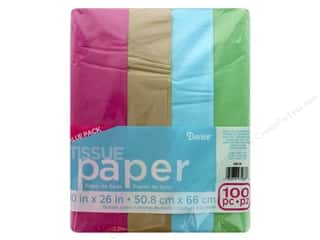 craft & hobbies: Darice Tissue Paper 20 x 26 in. Fashion Art 100 pc.