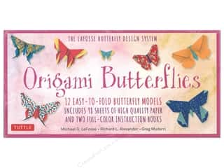 books & patterns: Tuttle Publishing Origami Butterflies Kit And Book