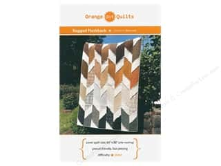Orange Dot Quilts Ragged Flashback Pattern