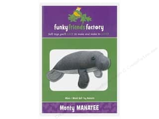 Clearance: Funky Friends Factory Monty Manatee Pattern