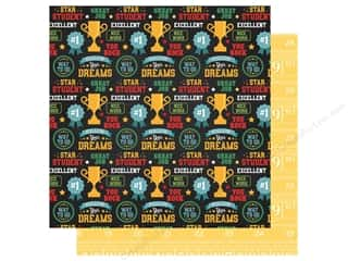Clearance: Echo Park Collection Back To School Paper 12 in. x 12 in. Star Student (25 pieces)
