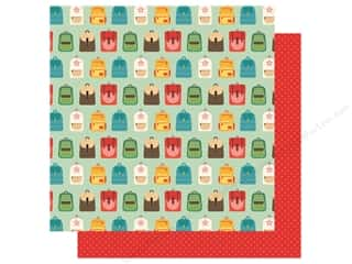 Clearance: Echo Park Collection Back To School Paper 12 in. x 12 in. Backpacks (25 pieces)