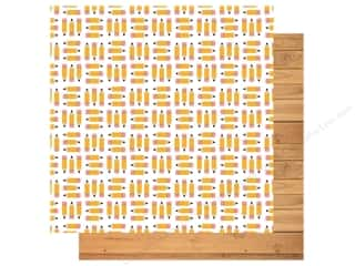 Clearance: Echo Park Collection Back To School Paper 12 in. x 12 in. Pencil Pushers (25 pieces)