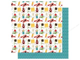 Clearance: Echo Park Collection Back To School Paper 12 in. x 12 in. School House Fun (25 pieces)