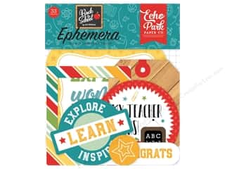 Clearance: Echo Park Collection Back To School Ephemera