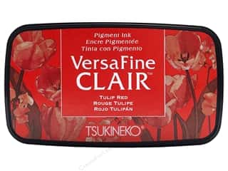 Tsukineko VersaFine Clair Ink Pad Tulip Red