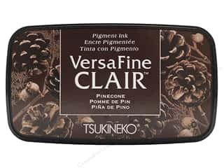 ink pad: Tsukineko VersaFine Clair Ink Pad Pinecone