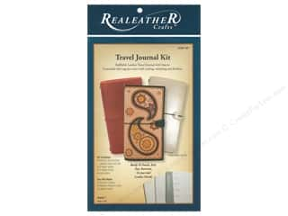 elastic: REALEATHER Travel Journal Kit Natural