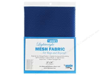 By Annie Lightweight Mesh Fabric 18 x 54 in. Blastoff Blue