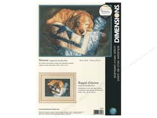 yarn & needlework: Dimensions Cross Stitch Kit 14 in. x 10 in. Snooze