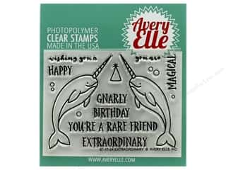 Avery Elle Clear Stamp Extraordinary
