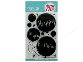 Avery Elle Clear Stamp Balloons