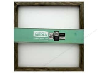 "Jillibean Soup Collection MixThe Media Rustic Frame 12""x 12"" White Center"