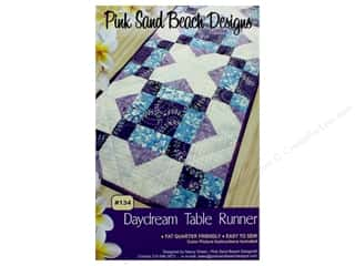 Pink Sand Beach Designs Daydream Table Runner Pattern