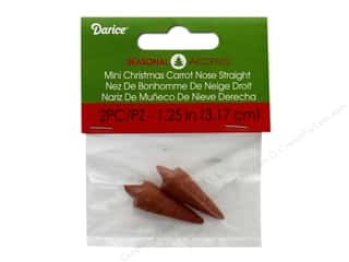 craft & hobbies: Darice Christmas Carrot Nose Straight Mini 2 pc