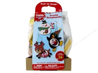 craft & hobbies: Darice Foamies Activity Kit Frame Ornament
