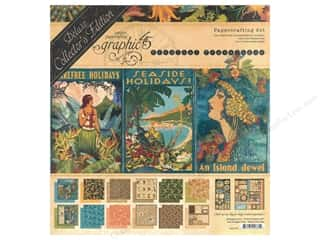Graphic 45 Deluxe Collectors Edition Tropical Travelogue