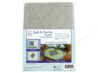 June Tailor Batting Quilt As You Go Cotton/Polyester Placemat Casablanca