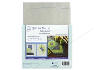 batting: June Tailor Batting Quilt As You Go Cotton/Polyester Table Runner Morning Blend