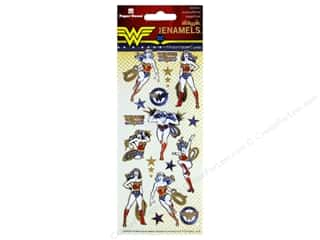 Paper House Sticker Enamel Wonder Woman
