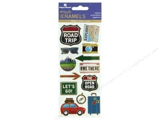 scrapbooking & paper crafts: Paper House Sticker Enamel Road Trip