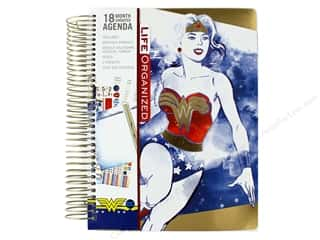 Paper House Collection Life Organized Planner 18 Month Wonder Woman