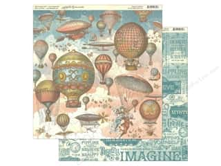 Graphic 45 Collection Imagine Paper 12 in. x 12 in. Up & Away (25 pieces)
