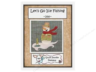 books & patterns: Quilt Doodle Designs Let's Go Ice Fishing Pattern