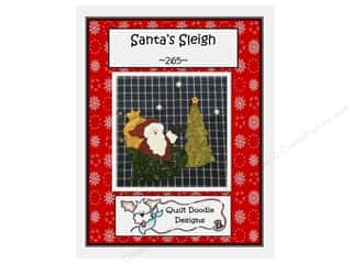 books & patterns: Quilt Doodle Designs Santa's Sleigh Pattern