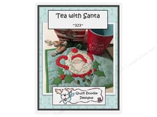 books & patterns: Quilt Doodle Designs Tea with Santa Mug Rug Pattern