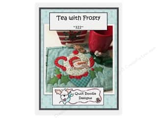 books & patterns: Quilt Doodle Designs Tea With Frosty Mug Rug Pattern