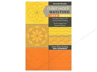 Stash By C&T Books Rulerwork Quilting Idea Book