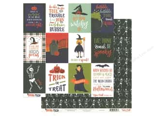 Echo Park Collection Hocus Pocus Paper 12 in. x 12 in. Journal Cards 3 in. x 4 in. (25 pieces)