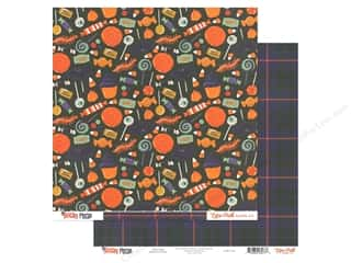 Echo Park Collection Hocus Pocus Paper 12 in. x 12 in. Treat Bag (25 pieces)
