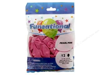 Pioneer Funsational Balloons 12 in. 12 pc. Pearl Pink