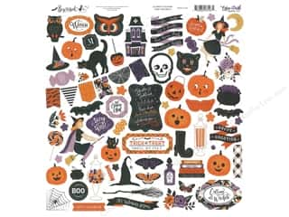 Echo Park Collection Bewitched Sticker 12 in. x 12 in. (15 pieces)