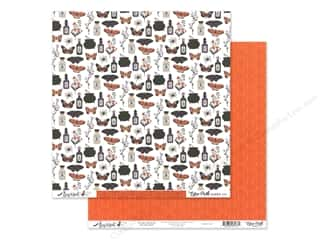 Echo Park Collection Bewitched Paper 12 in. x 12 in. Trouble Brewing (25 pieces)