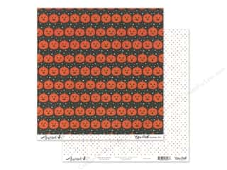 Echo Park Collection Bewitched Paper 12 in. x 12 in. Phantom Pumpkins (25 pieces)