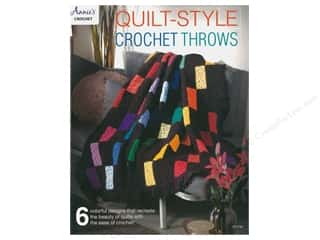books & patterns: Annie's Quilt Style Crochet Throws Book