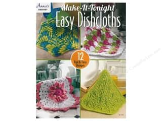 yarn: Annie's Make It Tonight Easy Dishcloths Book