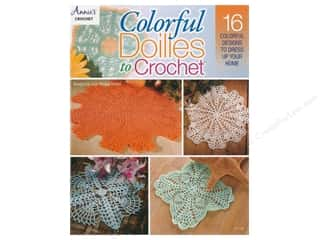 books & patterns: Annie's Colorful Doilies To Crochet Book