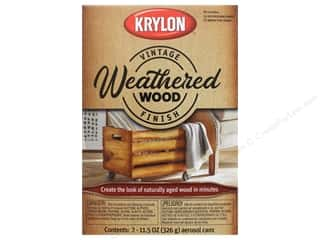 craft & hobbies: Krylon Paint Kit Vintage Finish Weathered Wood